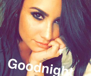 demi lovato, demi, and snapchat image