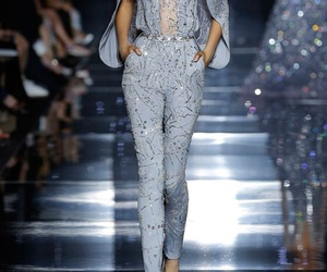 fashion, Zuhair Murad, and blue image