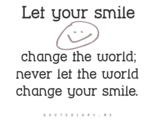 smile, quote, and world image