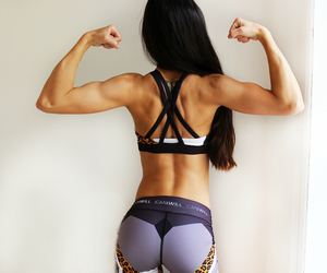 clothes, girl, and gym image