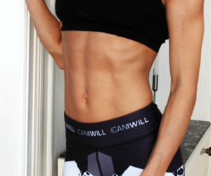 abs, fitness, and black image