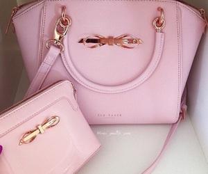 pink, bag, and luxury image