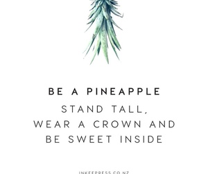 quotes, pineapple, and sweet image