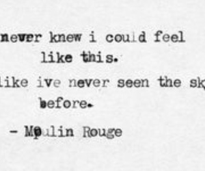 moulin rouge and quote image