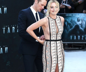 margot robbie, alexander skarsgard, and tarzan image