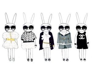 chanel, fifi lapin, and bunny image
