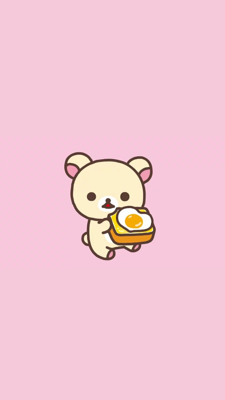 Art Bear Cartoon Cute Baby Dots Drawing Food Illustration