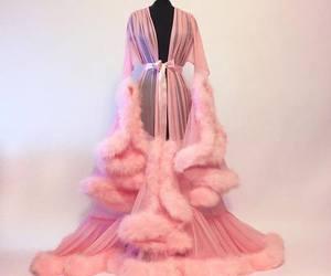 pink, fashion, and robe image