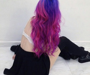 hair, style, and maristelice image