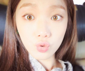 eyes, girl, and lee sungkyung image