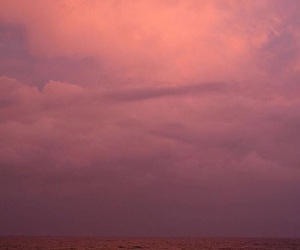 clouds, mood, and pink image