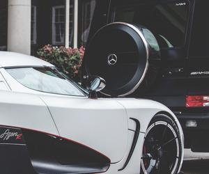 car, luxury, and amg image