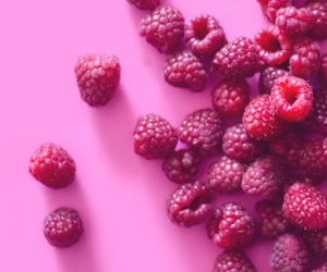 background, berries, and decor image
