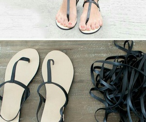 diy, moda, and sandals image