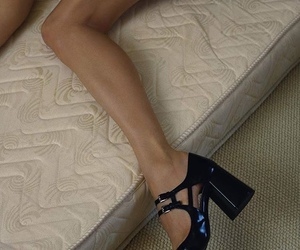 fashion, leather, and patent leather image