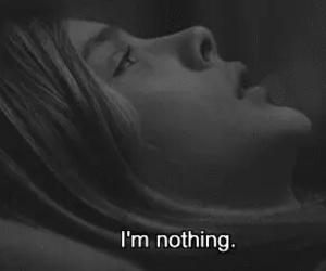 nothing, sad, and depressed image