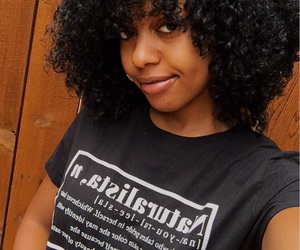 black girl, natural, and pretty image
