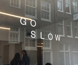 amsterdam and go slow image