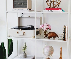 decor, girly, and gold image