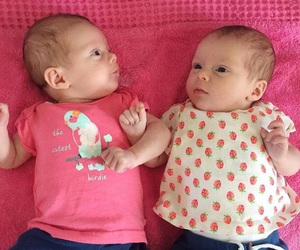 adorable, sister, and babies image