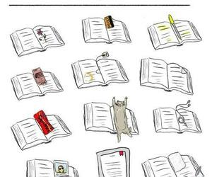 books, lol, and separadores image