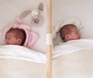 babies, girls, and identical image
