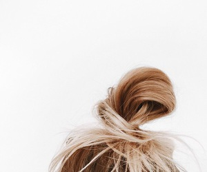blonde, tumblr, and bun image