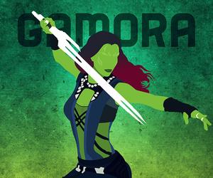 art, gamora, and comics image