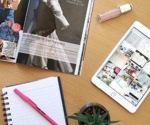 college, fashion, and magazine image