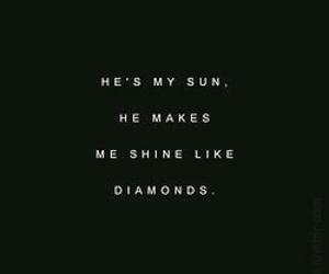 alternative, diamonds, and Lyrics image