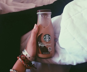 coffee, frappuccino, and summertime image