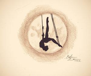 ballerina, ballet, and black image