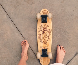 beach, sk8, and style image