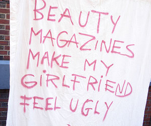 quotes, beauty, and magazine image