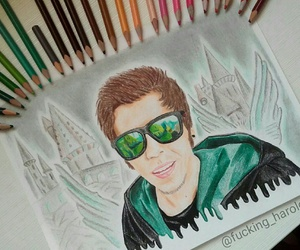 fan art, youtubers, and elrubius image