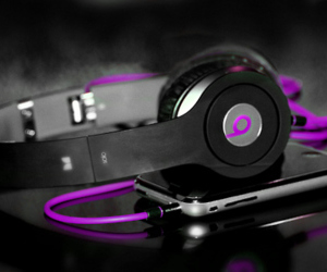 beats, girly, and iphone image