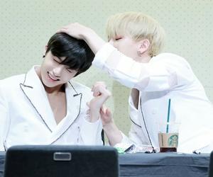 wonho and hyungwon image