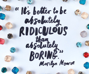 quote, Marilyn Monroe, and diamonds image