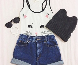 cat and outfit image