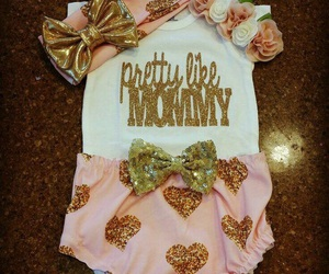 baby clothes, baby girl, and girl image