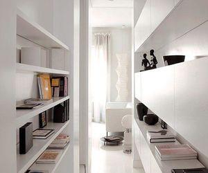 interior, milano, and white image