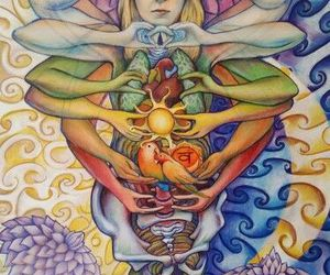 chakras, spiritual, and yoga image
