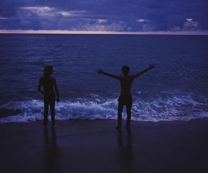 photography, beach, and sea image