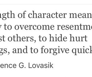 character, forgive, and forgiveness image