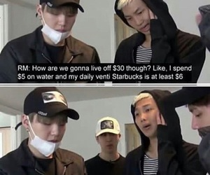 bts, namjoon, and kpop image