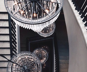 luxury, chandelier, and interior image