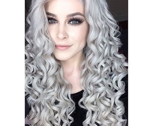 beauty, curly, and fashion image