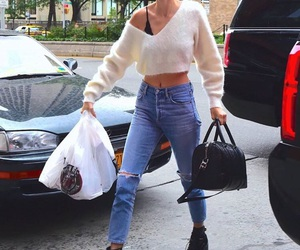 kendall jenner and jeans image