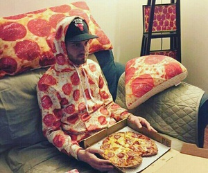 pizza, food, and funny image