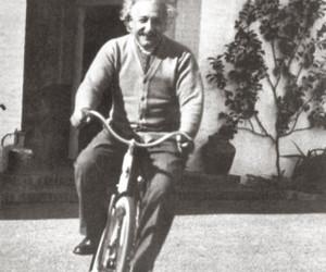 einstein, Albert Einstein, and bike image